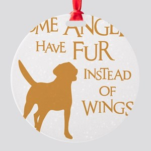 LAB ANGEL Round Ornament
