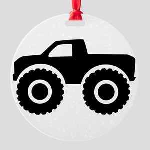 monster_truck Round Ornament