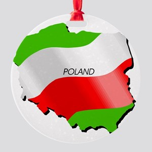poland.png Round Ornament