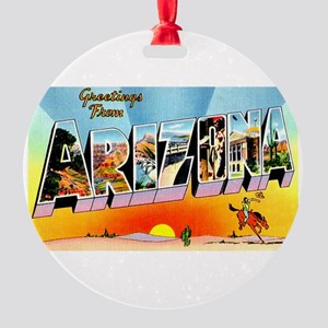 Arizona5 Round Ornament