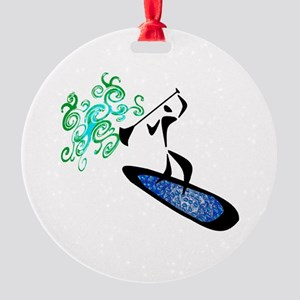 SUP VIBE  Round Ornament