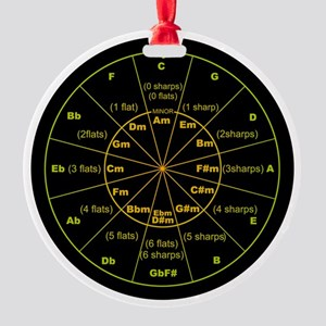 circle of 5th Round Ornament