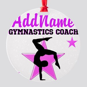 TOP COACH Round Ornament