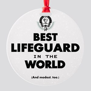 The Best in the World – Lifeguard Ornament