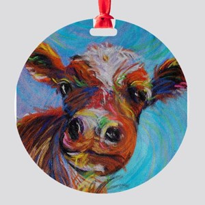 Bessie the Cow Ornament