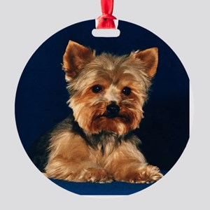 ornament round yorkie Round Ornament