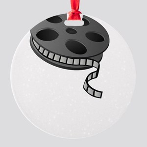 Keep Movie Reel Round Ornament