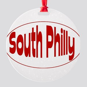 South Philly Round Ornament