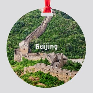 Beijing Round Ornament