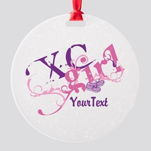 Customize XC Cross-Country Girl Ornament
