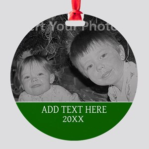 Completely Custom Green Ornament