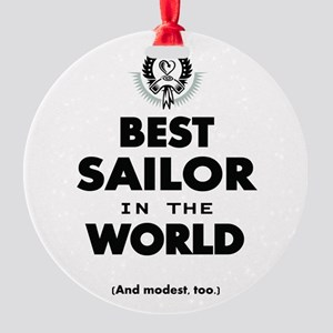 The Best in the World Best Sailor Ornament