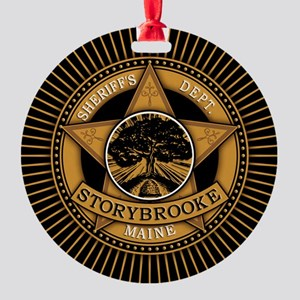 Storybrooke Sheriff Badge Ornament