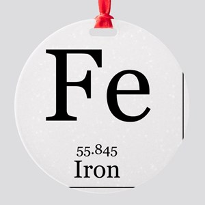 Elements - 26 Iron Round Ornament