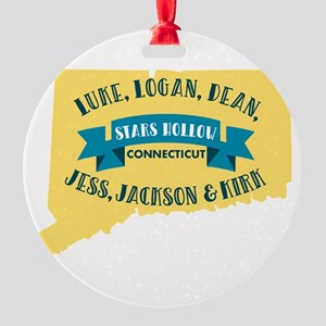 Gilmore girls female cast Round Ornament