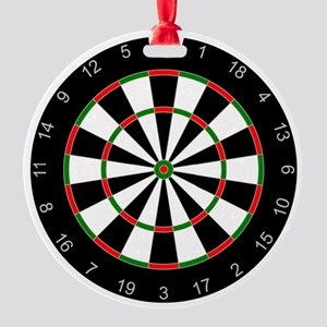 dart board Round Ornament