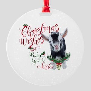 Goat Christmas Ornament.Pygmy Goat Ornaments Cafepress