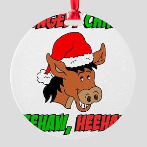 Donkey Christmas Ornaments.Dominick Donkey Ornaments Cafepress