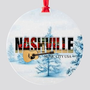 Nashville Music City-CO-03 Ornament