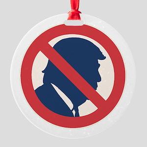 Anti President Trump Ornament