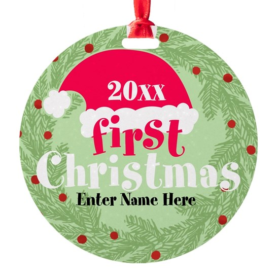 First Christmas Personalized