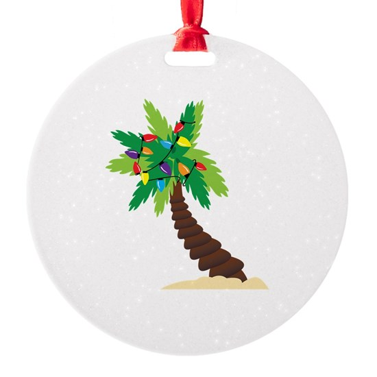 Christmas Palm Tree