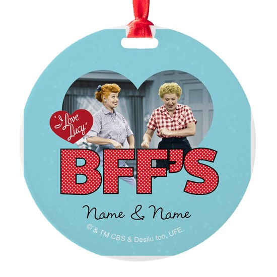 BFFs Personalized Ornament
