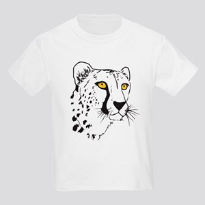Silhouette Cheetah Kids Light T-Shirt