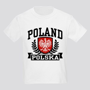 Poland Polska Kids Light T-Shirt
