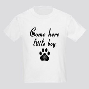 Cougar: Come Here Little Boy Kids Light T-Shirt