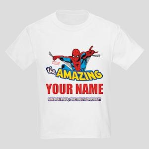 03493b92e The Amazing Spider-man Personal Kids Light T-Shirt