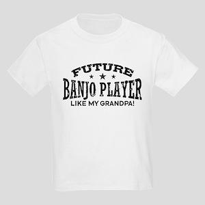 1eb197b6 Future Banjo Player Like My Gra Kids Light T-Shirt