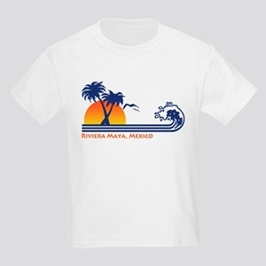 Riviera Maya Mexico Kids Light T-Shirt