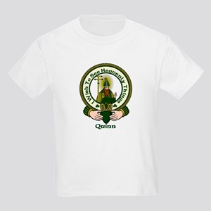 Quinn Clan Motto Kids T-Shirt