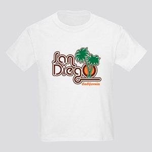 San Diego CA Kids Light T-Shirt