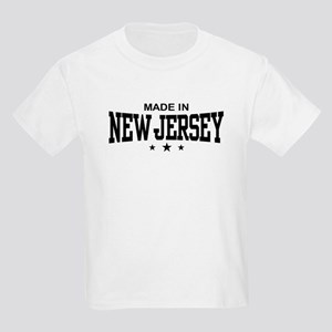 Made In New Jersey Kids T-Shirt
