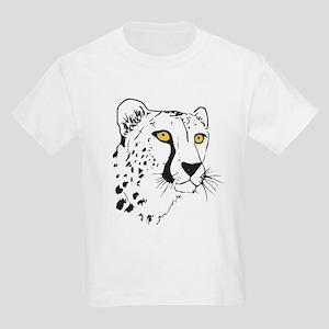 Silhouette Cheetah Kids Light T-Shirt