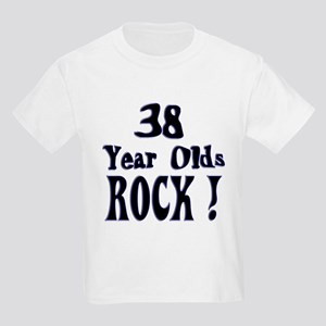38 Year Olds Rock ! Kids Light T-Shirt