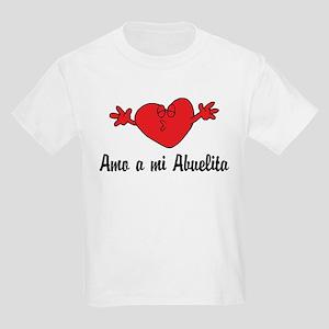 Amo a mi Abuelita Kids Light T-Shirt