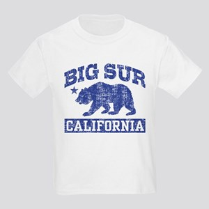 Big Sur California Kids Light T-Shirt