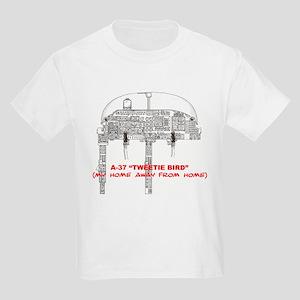 A-37 TWEETIEBIRD Kids Light T-Shirt