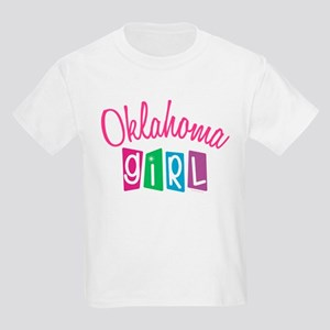OKLAHOMA GIRL! Kids Light T-Shirt