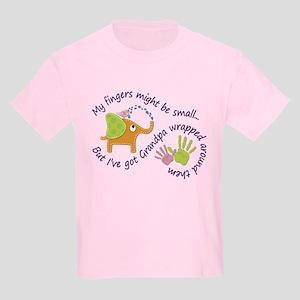 3855f5f5a T-Shirts. My fingers might be small, but I've got Grandpa wr