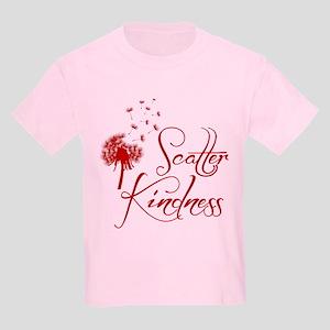 SCATTER KINDNESS Kids Light T-Shirt