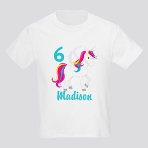 Unicorn Birthday Kids Dark T-Shirt
