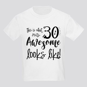 Awesome 30 Year Old Kids Light T-Shirt