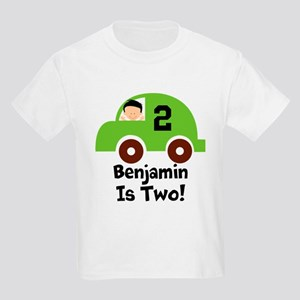 2nd Birthday Car Personalized Two T-Shirt