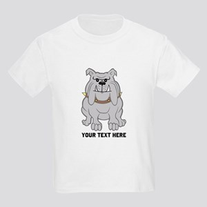 Bulldog personalized Kids Light T-Shirt