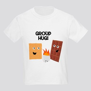 S'more Group Hug Kids Light T-Shirt