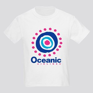 Lost Oceanic Airlines Kids Light T-Shirt